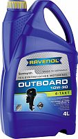 "Масло ""RAVENOL"" Outboard 4T 4л. 10W30"